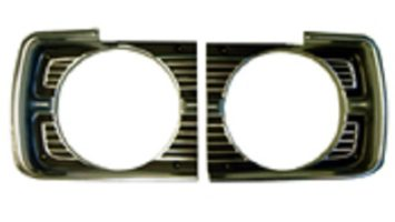 68 Dart Headlight Bezels