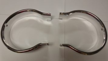 64 polara headlight bezels