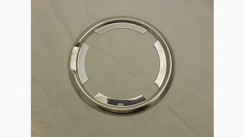 Challenger flip top gas cap trim ring bezel.