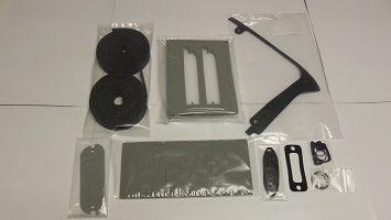 67 belvedere paint gasket kit