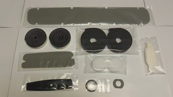 71 Dodge Charger paint gasket kit