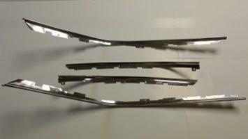 Challenger drip rail trim