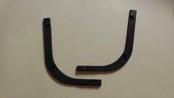 63-66 dart rear bumper fillers