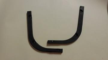63-66 dart rear bumper fillers