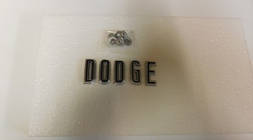 67 Charger Coronet Hood Letters