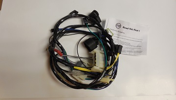 74 E-Body Cuda Challenger Engine Wiring Harness built up to 10/12/73