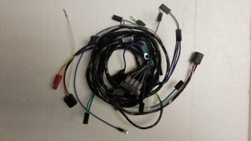 Mopar 66 Dart Valiant Barracuda Engine Headlight Wiring Harness