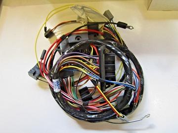 1966 barracuda wiring harness 1966 barracuda dash wiring harness - hu303a - vans auto 1966 mustang wiring harness