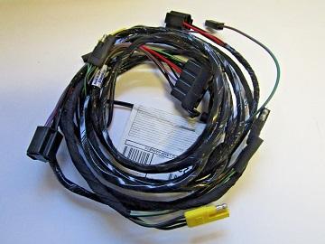 headlight wiring harness 1970 plymouth b-body except superbird ...  vans auto