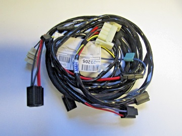 headlight wiring harness w/o hidden head lights or fender mounted turn  signal 1971 charger  vans auto